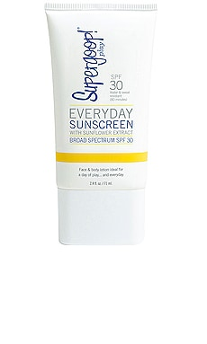 ÉCRAN SOLAIRE EVERYDAY Supergoop! $22