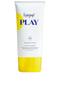 PLAY Everyday Lotion SPF 50 5.5 oz Supergoop! $32 BEST SELLER