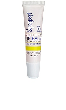 AcaiFusion Lip Balm SPF 30 Supergoop! $10