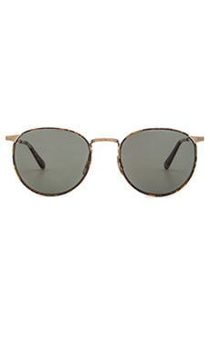 SALT. OPTICS Brower in Antique Gold