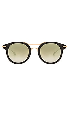 SALT. OPTICS Taft in Matte Black & Brushed Honey Gold