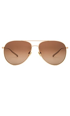 SALT. OPTICS Francisco in Brushed Honey Gold