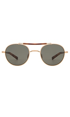 SALT. OPTICS Leif in Brushed Honey Gold