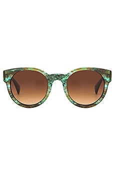 SALT. OPTICS Houston in Sandy Sea Green & Antique Gold