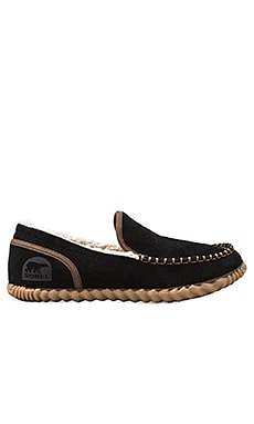 Sorel Dude Moc Slipper in Black