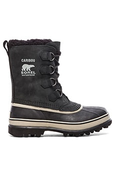 Sorel Caribou in Black Tusk