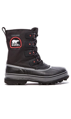 Sorel Caribou XT in Black Shale
