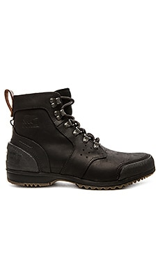 Sorel Ankeny Mid Hiker in Black Tobacco