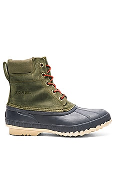 Sorel Cheyanne Lace Full Grain in Sage Sanguine