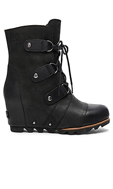Joan of Arctic Mid Wedge en Noir