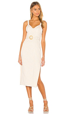 Paulina Midi Dress Song of Style $238