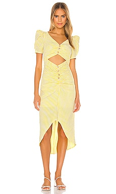 Lena Midi Dress Song of Style $238