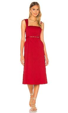 Harvey Midi Dress Song of Style $228