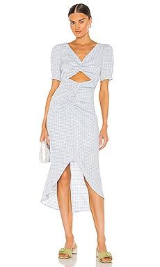 Lena Midi Dress Song of Style $167