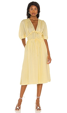 Sonnet Midi Dress Song of Style $298 NEW
