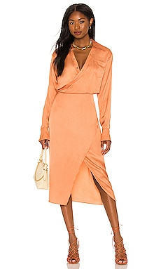 Thea Midi Dress Song of Style $248