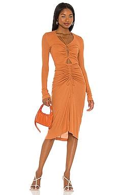 Zuri Midi Dress Song of Style $198