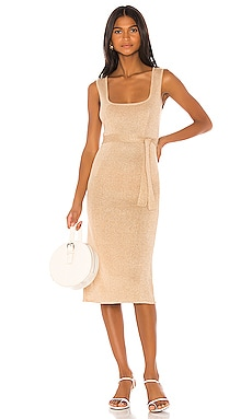 ROBE MI-LONGUE MIKKAH Song of Style $178