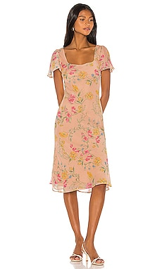 Maceo Midi Dress Song of Style $73 (FINAL SALE)