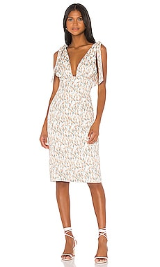 Odette Midi Dress Song of Style $96