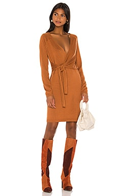 Sammy Wrap Dress Song of Style $158