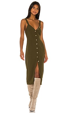 Isla Midi Dress Song of Style $90