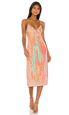 Lionel Midi Dress Song of Style $149