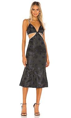 Elena Midi Dress Song of Style $58 (FINAL SALE)