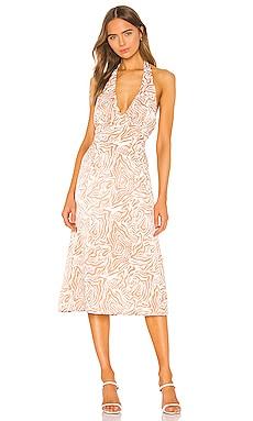 Jude Midi Dress Song of Style $72