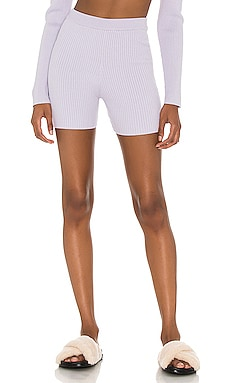 Lila Knit Biker Shorts Song of Style $148