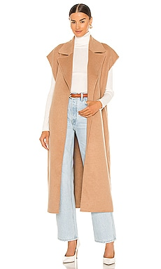 Adah Sleeveless Coat Song of Style $428