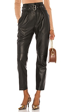 Suzie Leather Pants Song of Style $518
