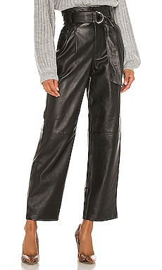 Sebastienne Leather Pants Song of Style $349