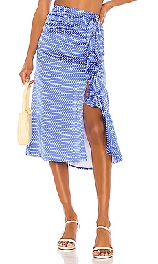 Delta Midi Skirt Song of Style $178 BEST SELLER