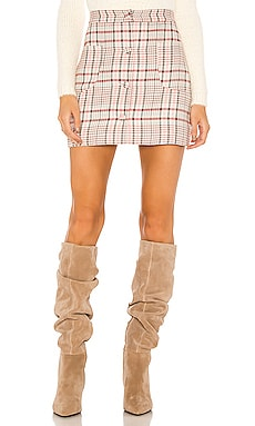 Astrid Mini Skirt Song of Style $148