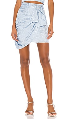 Agatha Mini Skirt Song of Style $95