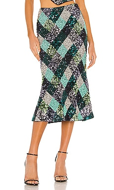 Flint Midi Skirt Song of Style $53 (FINAL SALE)