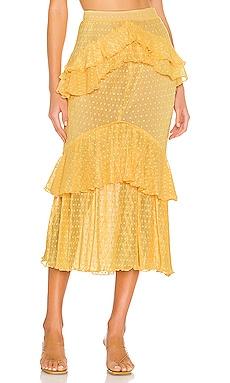Ada Midi Skirt Song of Style $160