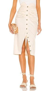 Edie Midi Skirt Song of Style $178