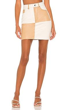 Vianka Leather Mini Skirt Song of Style $298