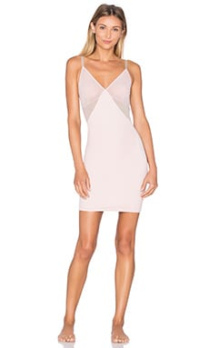 Colorblock Slip in Nude Blush & Sandcastle