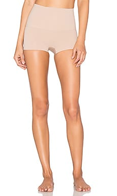 Power Short in Light Nude