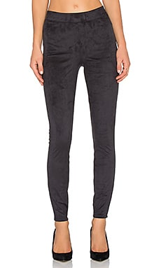 SPANX Easy Suede Leggings in Very Black