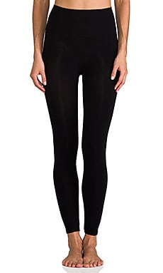 Look-at-Me Cotton Legging in Schwarz