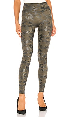 Faux Leather Camo Legging SPANX $110