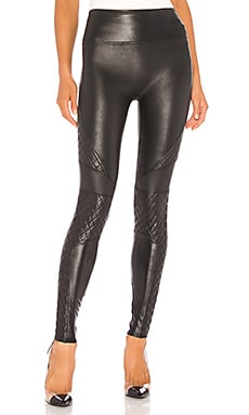LEGGINGS FAUX LEATHER SPANX $110