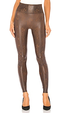 Faux Leather Snakeskin Legging SPANX $98