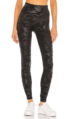Faux Leather Camo Legging SPANX $98 MÁS VENDIDO