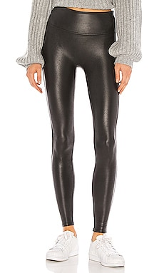 LEGGINGS FAUX LEATHER SPANX $98