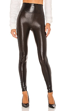 Faux Leather Croc Leggings SPANX $98
